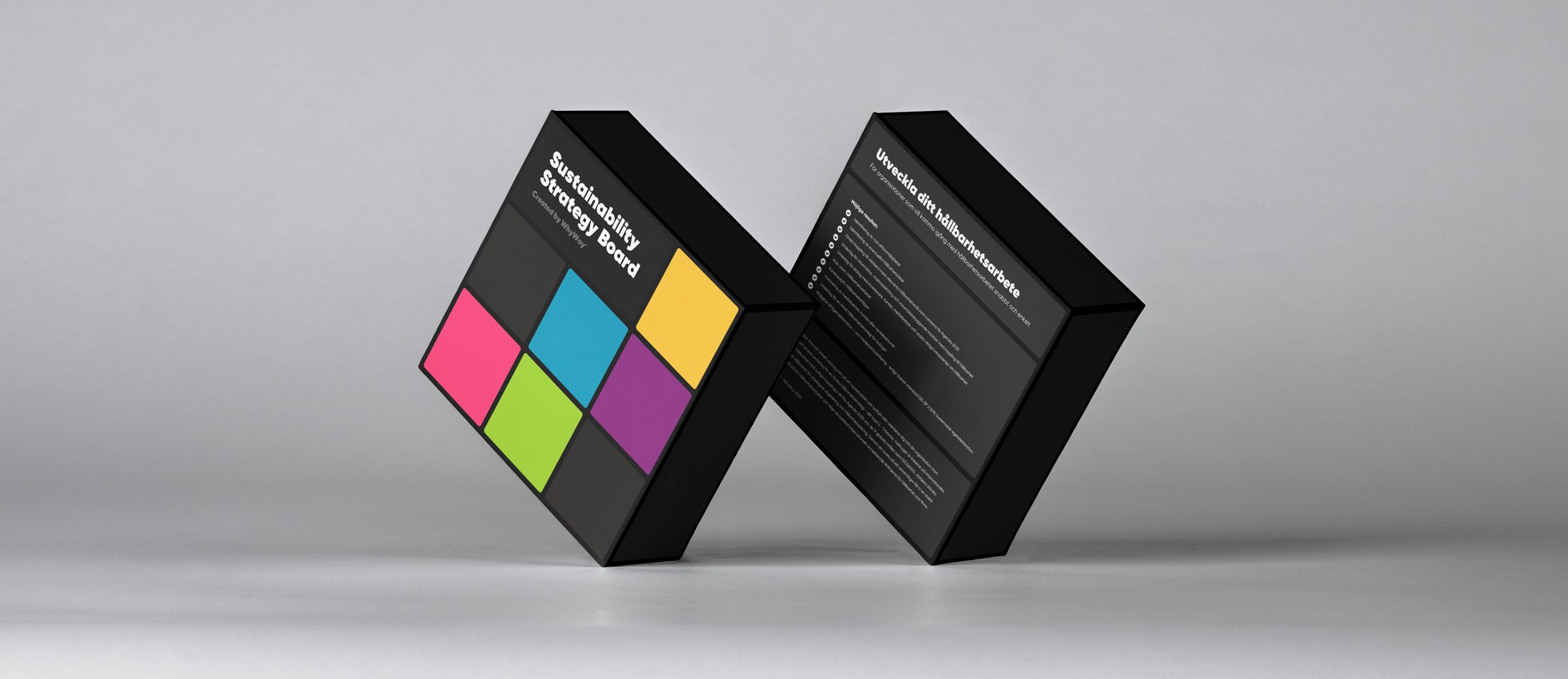 Sustainability Strategy Board Box Mockup